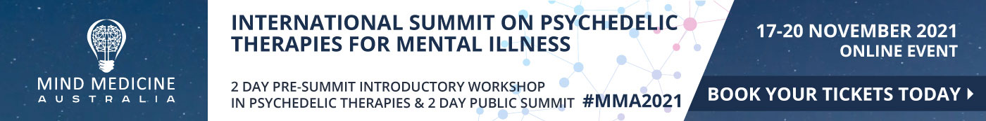 International Summit on Pyschedelic Therapies for Mental lllness - Book your tickets today